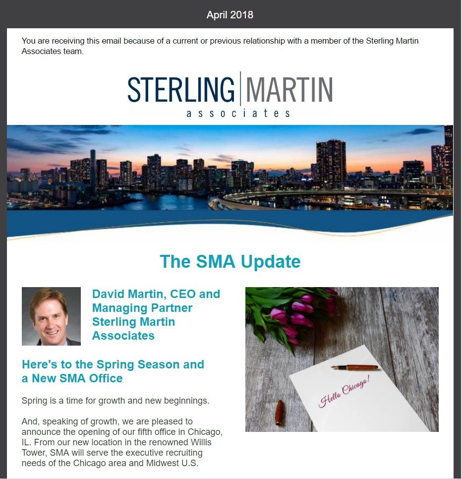 The SMA Update - April 2018